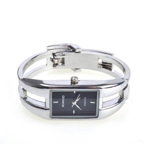 BestDealUK Modern Silver Fashion Alloy Case Bracelet