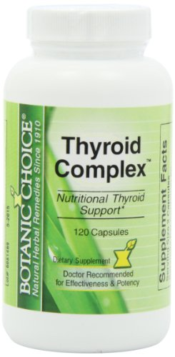 Botanic Choice Thyroid Complex Capsules, 120 Count