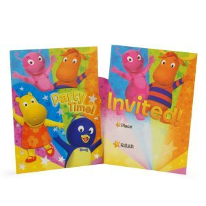 Imagen de The Backyardigans: Die Cut Invitaciones