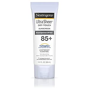 Neutrogena Ultra Sheer Dry-Touch Sunscreen, SPF 85, 3 Ounce