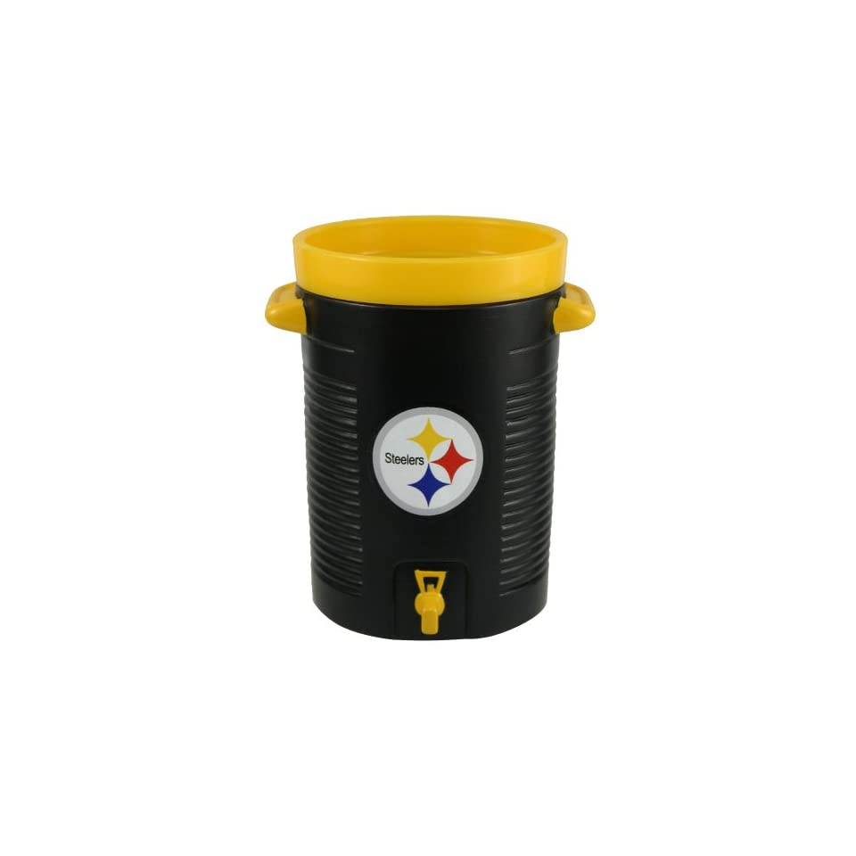 NFL Pittsburgh Steelers Black Water Cooler Cup  Sports Related Merchandise  Sports & Outdoors