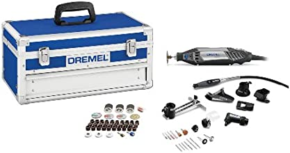 Dremel 4200-8/64 High Performance Corded Rotary Tool Kit with EZ Change, 77-Piece Platinum Edition