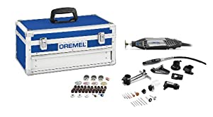Dremel 4200-8/64 Corded Rotary Tool Kit with EZ Change, 77-Piece Platinum Edition