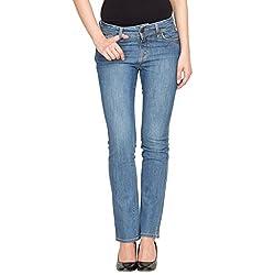 Species Women's Slim Fit Jeans (S-736_Blue_Medium)