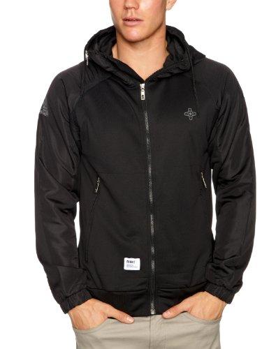 Addict Method Track Top Mens Jacket Black Medium