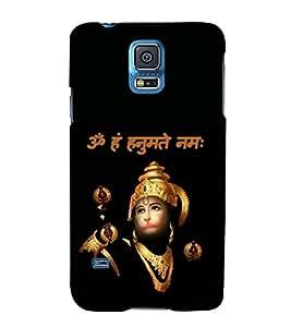 Sri Hanuman 3D Hard Polycarbonate Designer Back Case Cover for Samsung Galaxy S5 Mini :: Samsung Galaxy S5 Mini G800F