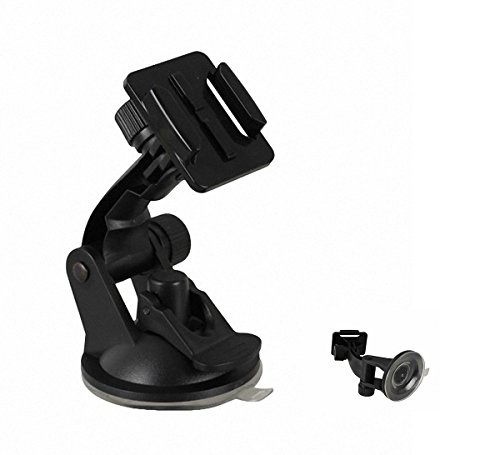 Suction Cup Mount Holder Adaptive To Quick Release Buckle For GoPro Hero 4/3/2/1 plastic Package #1, by LC Prime