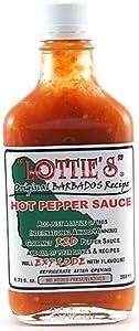 Lottie's Original Barbados Red Hot Sauce, 6.75oz.