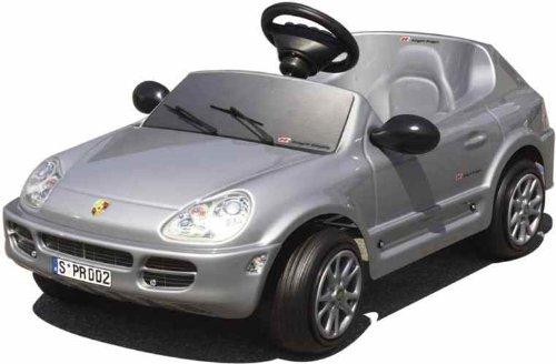 Toys Toys 6-volt Porsche Cayenne Ride On, Silver