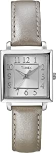 Timex Women's T2P0959J Analog Display Analog Quartz Beige Watch