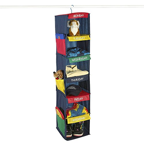 Monday - Friday Clothes Organizer (Clothes Organizer For Kids compare prices)