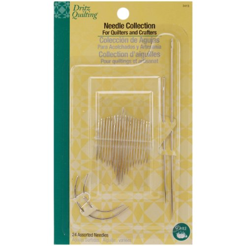 Dritz Needle Collection, 24 Count (Sharps Beading Needles Size 12 compare prices)