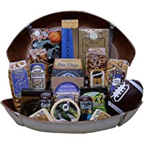 Football Game Day Snacks Gift Basket