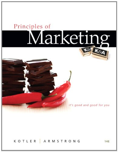 Principles of Marketing (14th Edition)