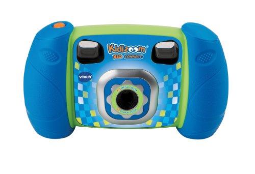 """VTech - Cámara de foto para niños, (cable USB, 1.3 MP, LCD 1.8""""), color azul (140705) (versión en francés)"""