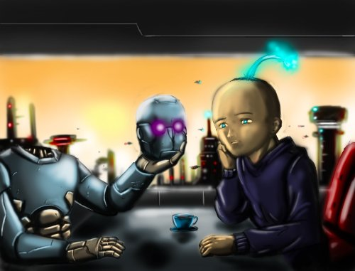 How Robots Got Religion (EMC2 Universe Book 1)