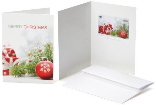 Amazon.com Gift Card with Greeting Card - $30 (Christmas Pine design)