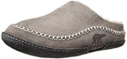 Sorel Men\'s Falcon Ridge Slipper,Shale,11 M US