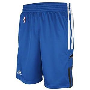 NBA adidas Orlando Magic Light Blue On-Court Pregame Shorts by adidas