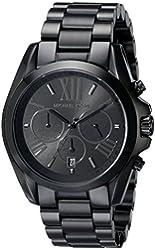 Michael Kors Women's Bradshaw Black Watch MK5550