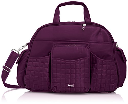 Lug Tuk Tuk Carry-All Bag, Plum Purple