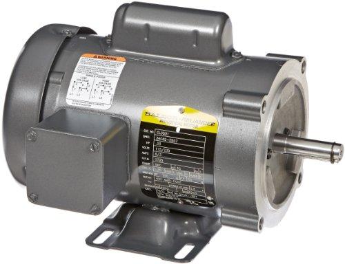 Baldor cl3501 general purpose ac motor single phase 56c for 56c frame motor dimensions