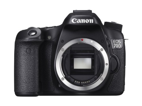 Sale!! Canon EOS 70D 20.2 MP Digital SLR Camera with Dual Pixel CMOS AF  (Body Only)