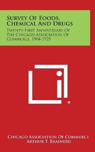 Survey of Foods, Chemical and Drugs: Twenty-First Anniversary of the Chicago Association of Commerce, 1904-1925