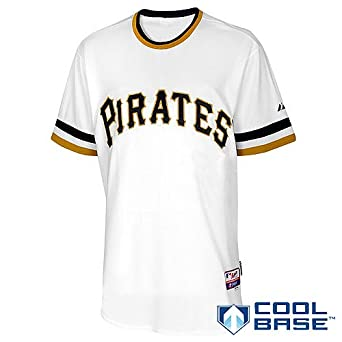 Pittsburgh Pirates Alternate Retro Authentic Cool Base Jersey by Majestic by Majestic