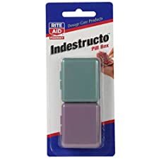 Rite Aid Indestructo Pill Box 2 pack