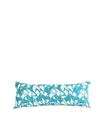 Trina Turk Vista Stripe Body Pillow, Teal
