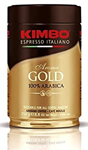 Caffe Kimbo Gold Medal Can - 12 Cans (250 Gr Each)