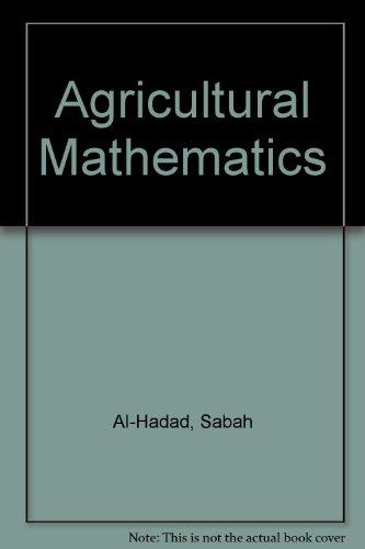 Agricultural Mathematics, Al-Hadad, Sabah