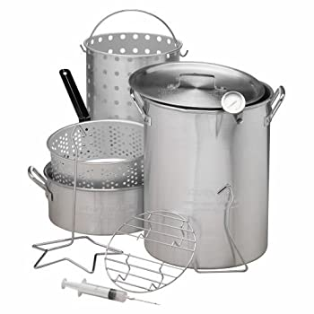 Outdoor Gourmet Deluxe Combo Pot Kit