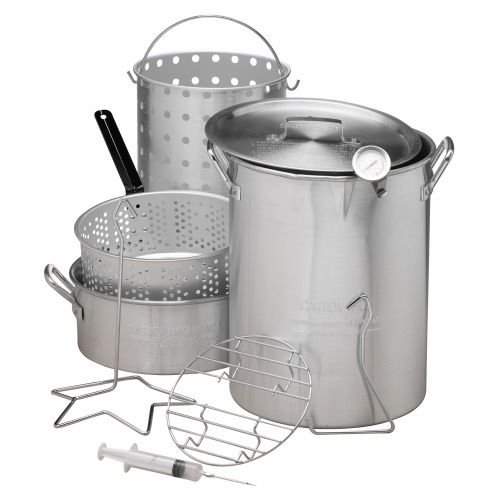 Outdoor Gourmet Deluxe Combo Pot Kit (Fish Fry Pot And Basket compare prices)