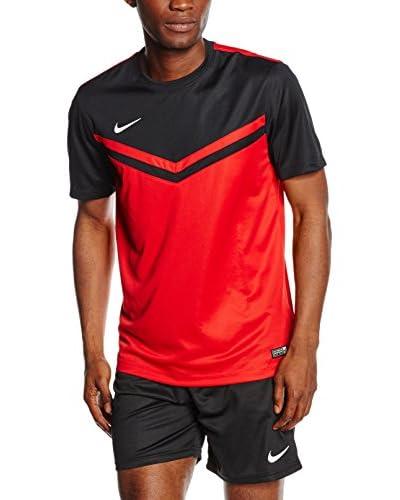 Nike Camiseta Manga Corta Jersey Victory II Verde / Negro / Blanco