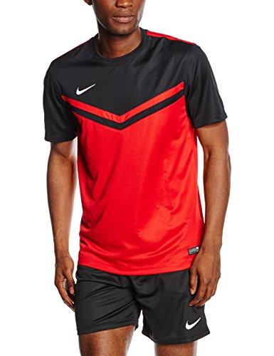 Nike Maglietta a maniche corte Top Victory II Jersey, Uomo, Jersey Victory II, Università rosso/bianco/nero, XL