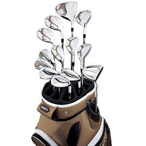 Adams Golf Idea A7OS 14 Piece Complete Set (Ladies Right-Handed, Color Bronze, Grafalloy Ultralite Graphite Ladies Shaft)