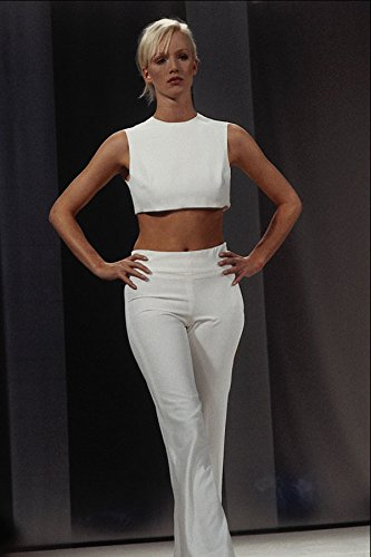 709043-ally-capellino-white-short-top-and-trousers-a4-photo-poster-print-10x8