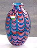 41bSk8xzgfL. SL160  Dale Tiffany Lagood Hand Blown Art Glass Vase