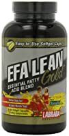 Labrada Nutrition EFA Lean Gold Essential Fatty Acid Softgel
