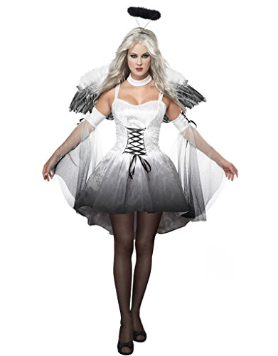 Adult Angel Costume, Halloween Outfit Women's Costumes Cosplay Uniform