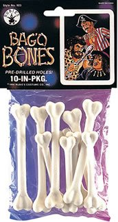 Rubie's Costume Bag'O Bones Costume Package (10 Piece)