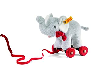 Steiff Pull-Along Animal Trampili Elephant from Steiff