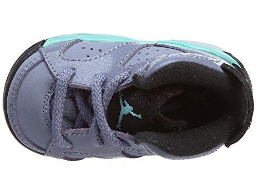 566b7aa06f2 pictures of Nike Jordan 6 Retro GT Iron Purple Black Bleached Turq 645127-