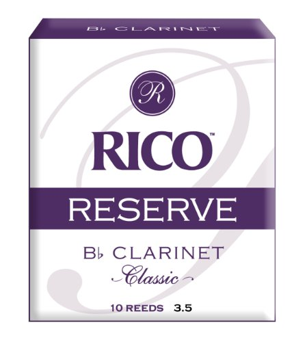 Rico Reserve Classic Bb Clarinet Reeds, Strength