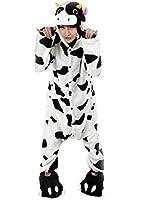 LATH.PIN Adulte Unisexe Anime Animal Costume Cosplay Combinaison Pyjama Outfit Nuit Vêtements Onesie Fleece Halloween Costume Soirée de Déguisements