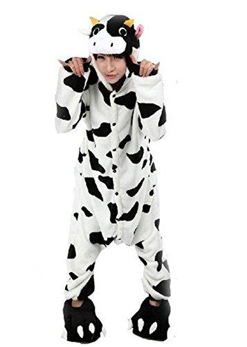 LATH.Pin Mucca pigiama adulto Anime Cosplay Costume Taglia S