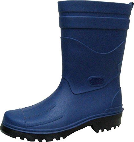 BOCKSTIEGEL - Dirk - Herren Gummistiefel - Blau Schuhe in Übergrößen, Größe:46