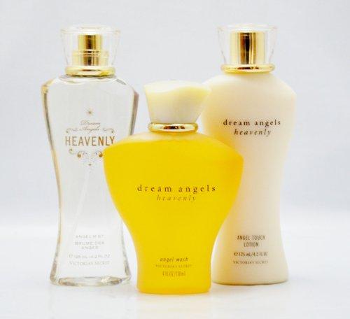 Victoria's Secret Dream Angels HEAVENLY Body Mist/ Body Lotion/ Body Wash - 3 Pcs SET